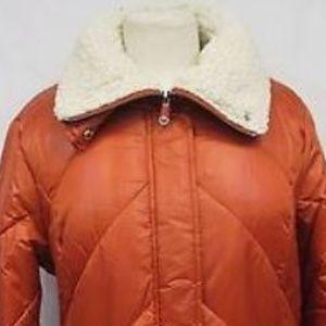 Kenneth Cole Women Faux Fur Sherpa-Lined Parka 1X